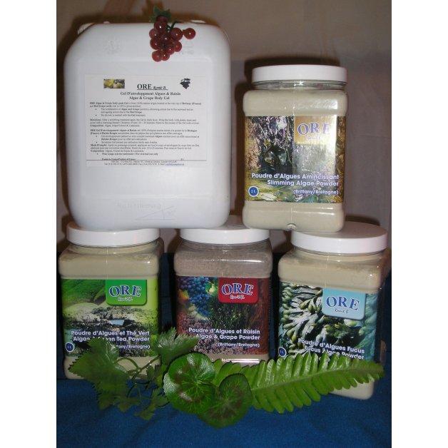 Algea & Grapes body pack - 2L
