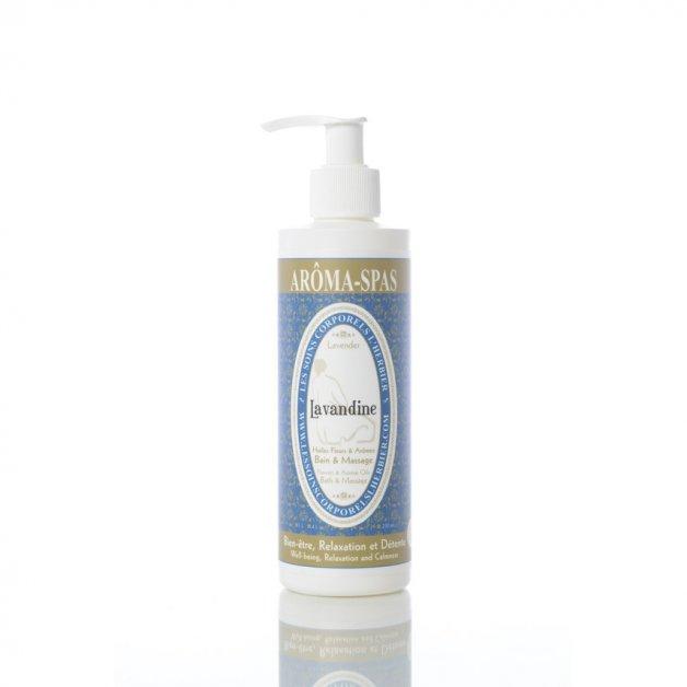 Huile de bain et massage Lavandine Les Soins Corporels l'Herbier Huiles de massage