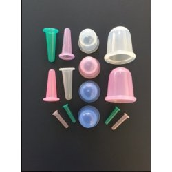 14 pieces silicone cupping set  Therapeutic accessories for massage