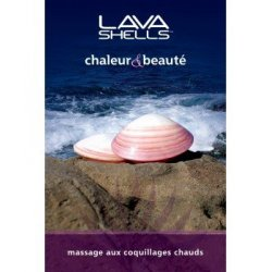 Affiche massage aux coquillages - Mains