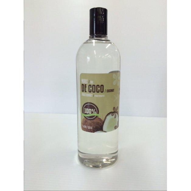 Huile de coco fractionnée 100% pure