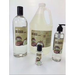 100% pure fractionnated coconut oil