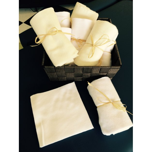 Fabric squares 6x6 inches - 25 units Allez Housses Body care accessories