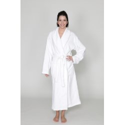 Shawl collar bathrobe - Women