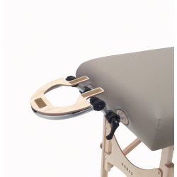 Adjustable & retractable head rest platform NOMAD
