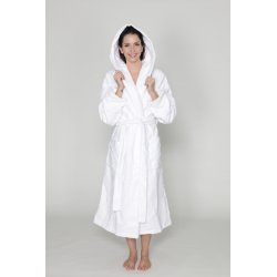 Women hooded robe