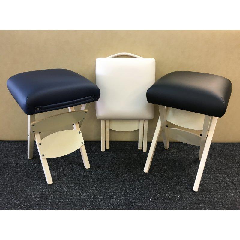 WJDOZ Portable Tabouret escamotable Marchepied ext/érieur Pliant Chaise Portable P/êche Camping Barbecue Queue Tourisme Ultral/éger Pliable r/étractable Tabouret Garden Beach Seat Color : Blue