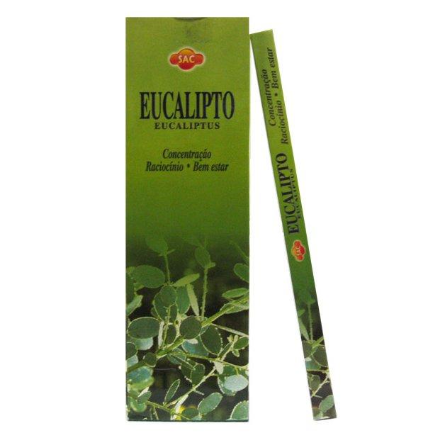 Encens en bâtons Eucalyptus - 20 bâtons
