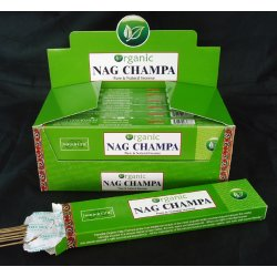 Organic Nag Champa incense stick - 20 stick  Incense