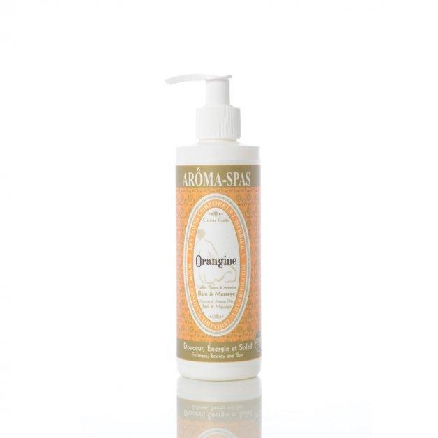 Huile de bain et massage Orangine