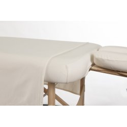 3 piece Ivory cotton sheet set