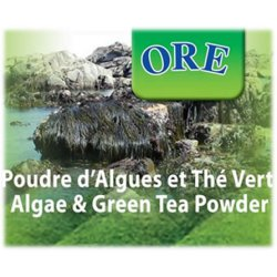 Algae and Green Tea powder - Body wrap & bath