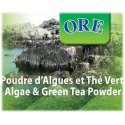 Algae and Green Tea powder - Body wrap & bath