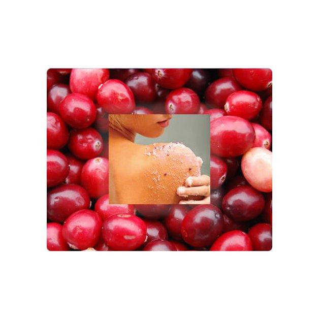 Exfoliant/gommage aux canneberges