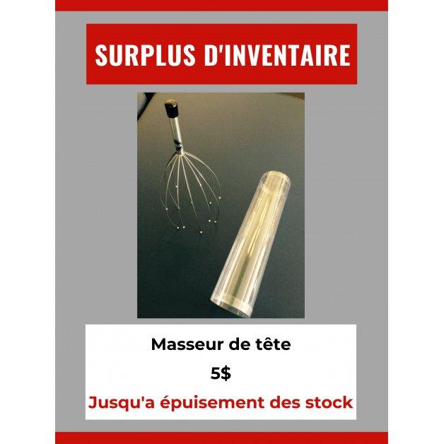 Surplus d'inventaire - Masseur de tête