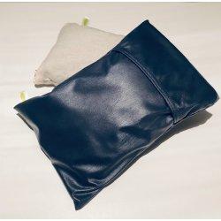 Paire de taies en vinyle imperméable - Coussin épaules 6x9 pouces