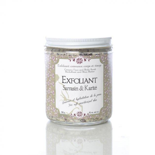 Face and Body Scrub – Buckwheat & Shea Butter