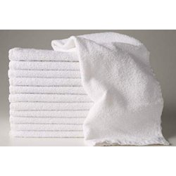 White hand towel 16''x27''