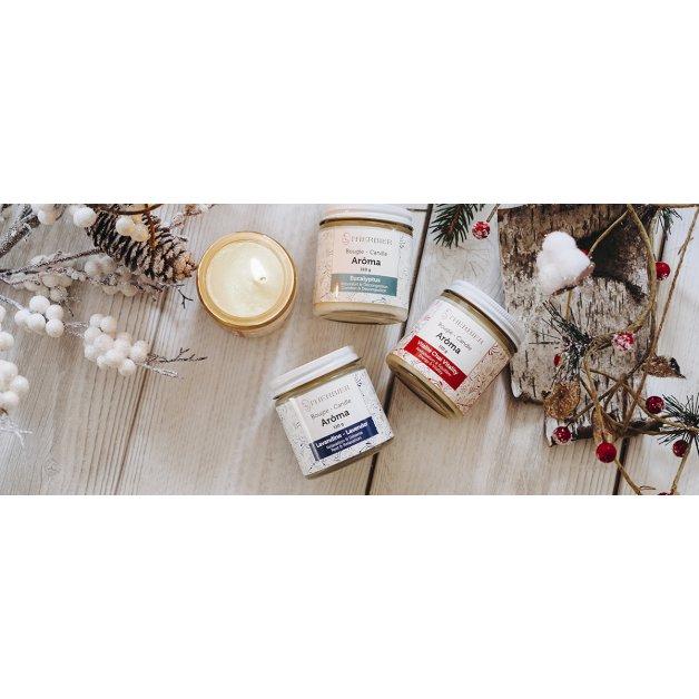 Bougie Aroma pour massage -Eucalyptus