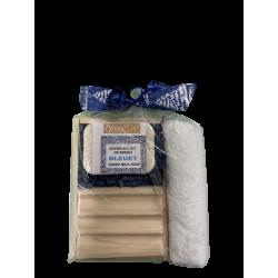 Ensemble Cadeau - Savon de bleuet au lait de brebis