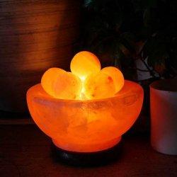 Lampe de Sel avec Balles de Massages