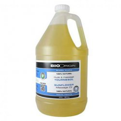 100% Pure Massage Oil - Sunflower BioOrigin Massage oils