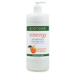 Aromatherapy 'Energy' Massage Lotion - Biotone Biotone Accueil