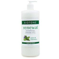 Aromatherapy 'Renewal' Massage Lotion - Biotone Biotone Accueil