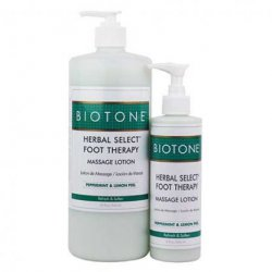 Herbal Select Foot Therapy Massage Lotion Biotone Massage products