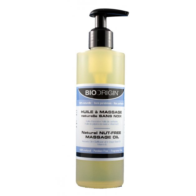 Natural Massage Oil - Nut Free