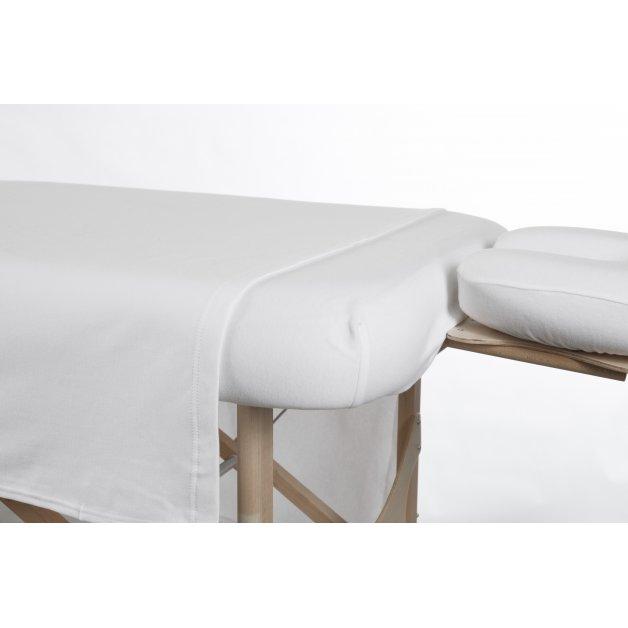 Ensemble 3 morceaux Tricot de Coton Allez Housses Literie de massage