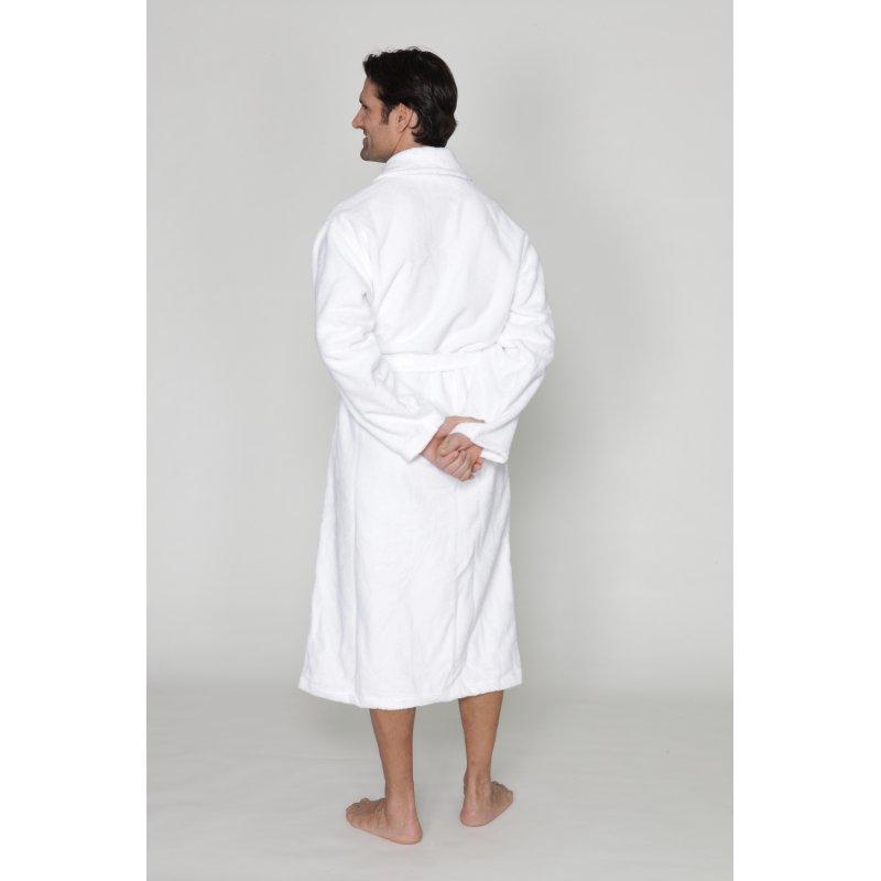 Robe de chambre col ch le homme - Robes de chambre de marque ...